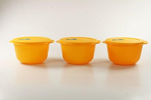 Tupperware Microonde Cryst alwave 2,0L Orange (3) Micro Wave Plus Fix P 23327