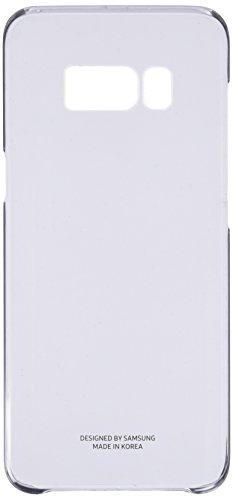 Samsung EF-QG950CBEGWW Clear Cover (geeignet für Samsung Galaxy S8) Transparent schwarz