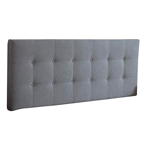 GXFWJD Without Headboard Bed Backrest Cushion Large Cotton and Linen Fabric Pillow Upholstered Lumbar Soft Sofa Washable (Color : D, Size : 150x72x8cm)
