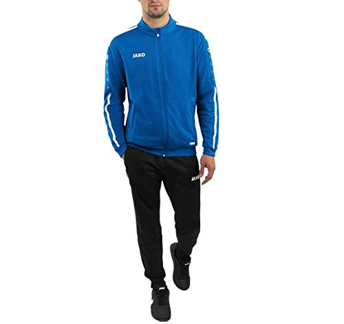 JAKO Kinder Striker 2.0 Trainingsanzug Polyester, royal/Weiß, 116