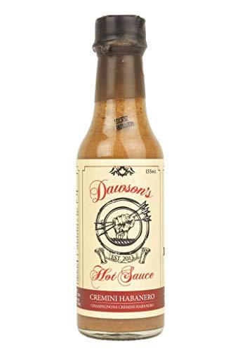 Dawson's Hot Sauce Cremini Habanero Hot Sauce, 155 ML