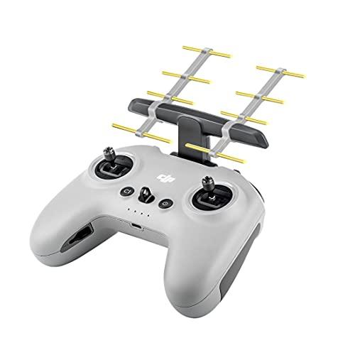 SKTE Amplificatore di segnale, Range Extender, Antenna di controllo remoto, adatto per Dji Fpv Drone Combinazione Accessorio Remote Booster Antenna, (2,4 ghz) (senza telecomando)