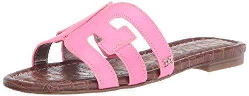 Sam Edelman Women's Bay flats-sandals ELECTRIC PINK