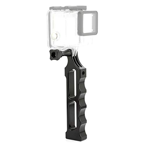 CattleBie Aluminiumlegierung Tactical Hand-Halter-Griff for DJI Osmo Aktion, GoPro Hero New / HERO7 / 6/05.05 Session / 4 Session / 4/3 + / 3/01.02, Xiaoyi und andere Actionkameras