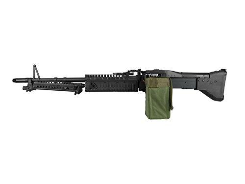 A&K M60 Vollauto Softair/Airsoft Light Machine Gun Maschinengewehr -schwarz- < 0,5 Joule
