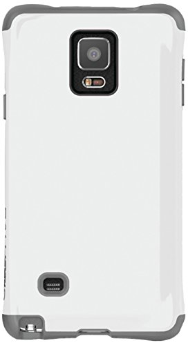 Ballistic Urbanite Case for Samsung Galaxy Note 4 - Retail Packaging - Gray/White