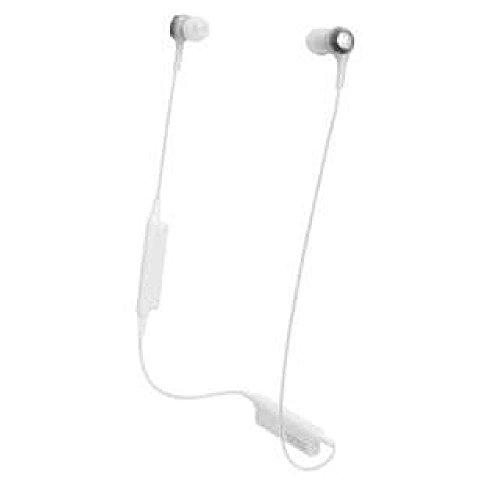 オーディオテクニカ Bluetooth対応ワイヤレスイヤホン(ホワイト)audio-technica ATH-CK200BT WH