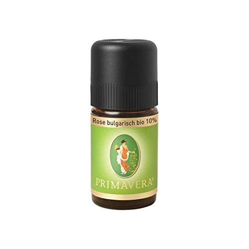 PRIMAVERA Ätherisches Öl Rose bulgarisch bio 10% 5 ml - Aromaöl, Duftöl, Aromatherapie -...