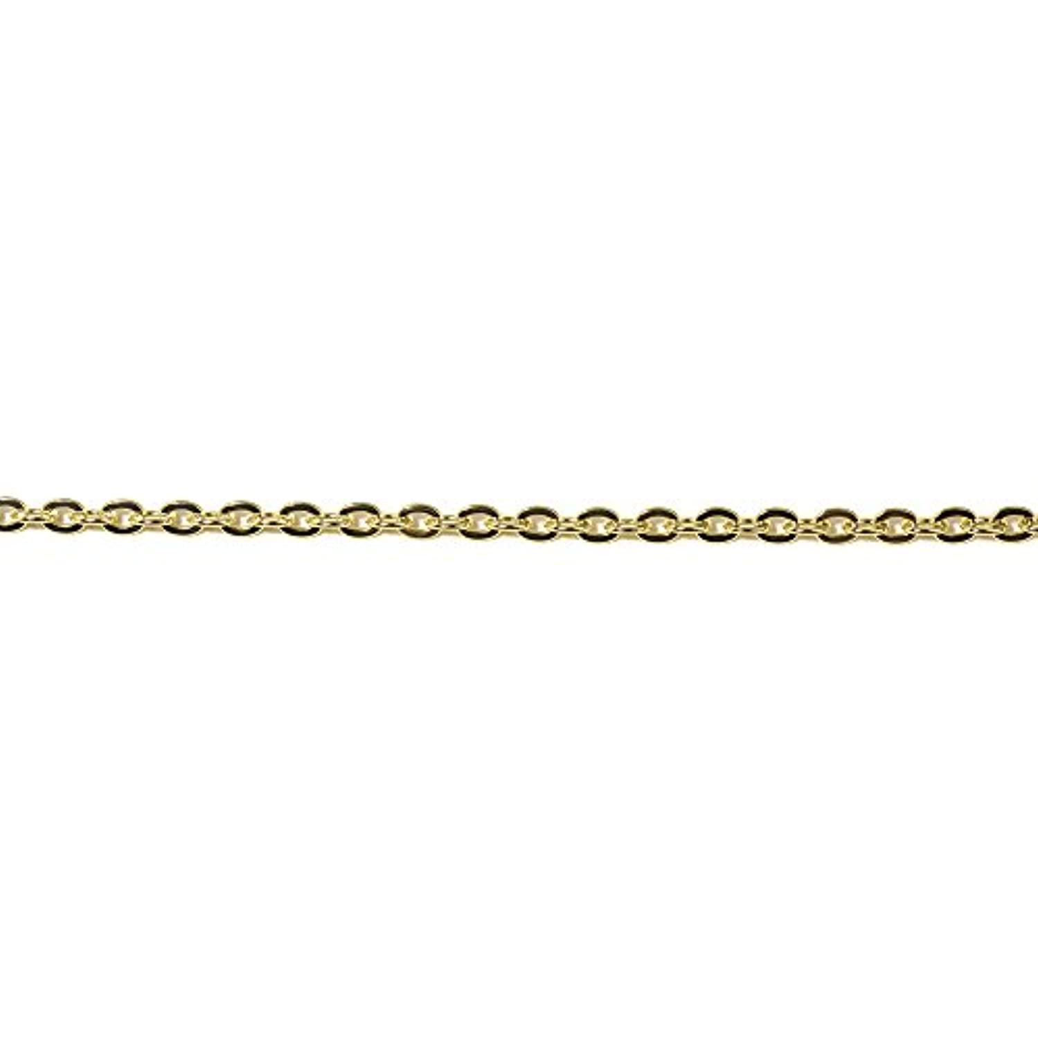 Rayher 4.8 mm Diameter Anchor Chain, Metal, Gold-Plated, 16.1 x 7.1 x 1.7 cm