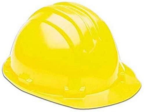 Maurer 15030022 - Cascos para obra, color amarillo