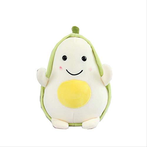 qwermz Weiches Spielzeug, 23 cm Cartoon Puppe Kissen Plüschtier Für Kinder Komfort Essen Avocado Obstpflanze Kinder Geschenke