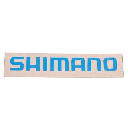 Shimano DECALSCY - Juego de adhesivos (tamaño pequeño), color cian