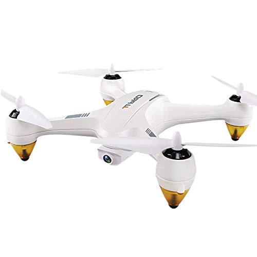 Vehículo aéreo, control remoto de 2,4 GHz, avión no tripulado de cuatro ejes, motor sin escobillas, punto fijo GPS doble, retorno con un botón, transmisión de imágenes de alta resolución en tiemp