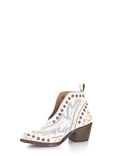 Corral Boots Q0167 White 6 B (M)