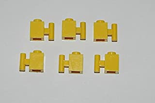 6 Lego Eisenbahn TRAIN Geriffelter geriffelte Steine SCHWARZ
