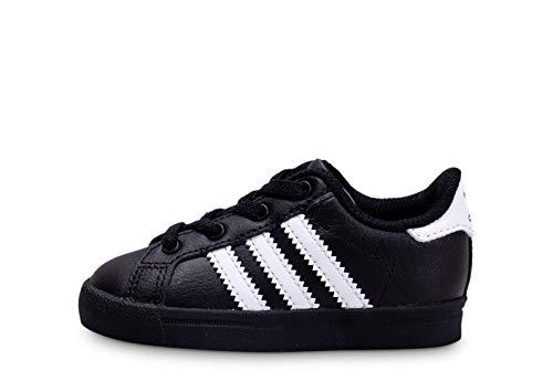 adidas Baby-Jungen Coast Star EL I Sneaker, Mehrfarbig (Core Black/FTWR White/Core Black Ee7505), 22 EU