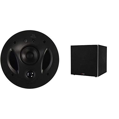 Polk Audio 90-RT In Ceiling 3-Way Vanishing Speaker White Brand New EACH