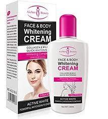 Aichun Beauty Summer Beach Body Collagen Quick Whitening Cream Skin Brightening Bleaching Private Parts Armpit Whitening Cream