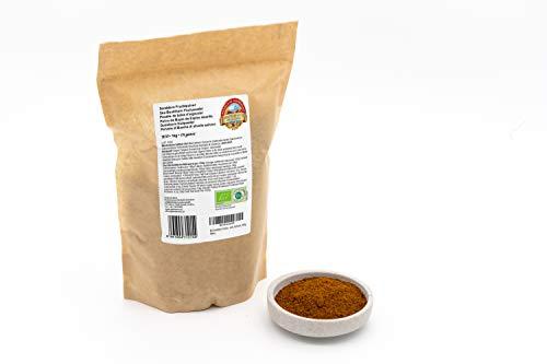 Bio Sanddorn Pulver – 1kg – Vollfruchtpulver aus ganzen, sonnengetrockneten, ungesüßten und...
