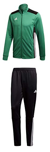 adidas Herren Regista 18 Polyesteranzug Trainingsanzug, Green/Black, XL