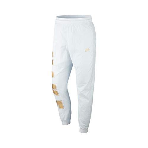 Nike Pantalón de chándal para Hombre Sportswear de Tela Blanca CT2532-043