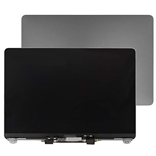 FristLCD Repair Part 661-05095 661-05096 fulltop Screen Replacement Compatible for MacBook Pro 13' A1706 A1708 Late 2016 mid 2017 Retina LCD Display Assembly (Space Gray)