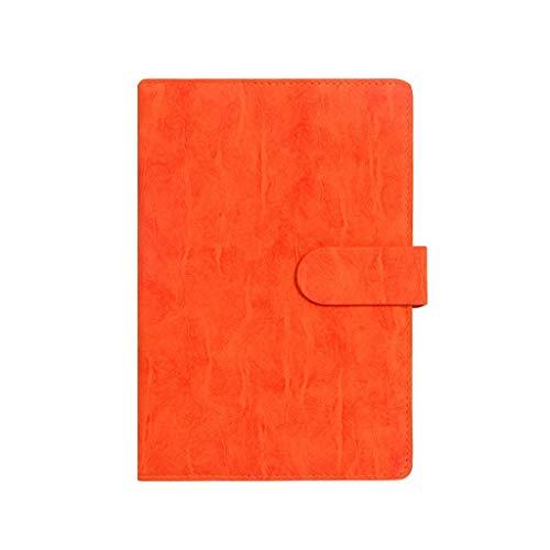 JIALI Cuaderno Simple Espesar Exquisito Estudio Cuaderno de Notas de Notas de la Oficina Diario de la Oficina Ordenar (Color: Marrón, Tamaño: 14.5 * 21.8cm) (Color: Marrón, Tamaño: 14.5 * 21.8cm)