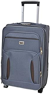 New Travel Luggage Trolley Bag for Unisex - Grey