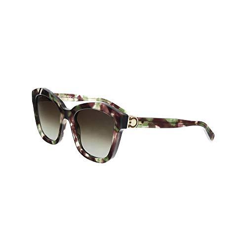 Ferragamo SF861S Cateye Sonnenbrille 54, Mehrfarbig