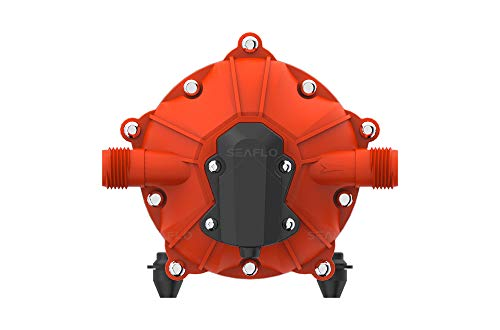 SEAFLO 12V 5.5 GPM 60 PSI Water Diaphragm Pressure Pump