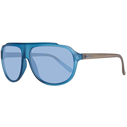 United Colors of Benetton Herren BE921S03 Sonnenbrille, Blau (Blue/Grey), 61