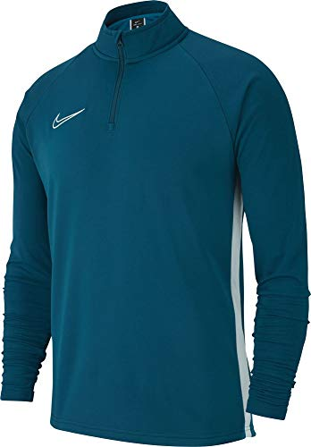 Nike Academy19 Drill Top Maillot Homme Marina/White/White FR : XL (Taille Fabricant : XL)