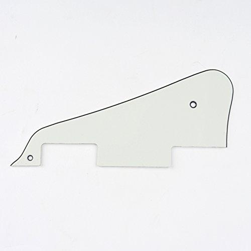 Musiclily Pickguard Golpeador para Epiphone Les Paul Standard de Fabricación China Stile Moderno, 3 capas Pergamino