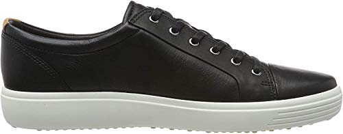 Ecco Herren SOFT7M Low-Top Sneaker, Schwarz (1001 Black), 44 EU