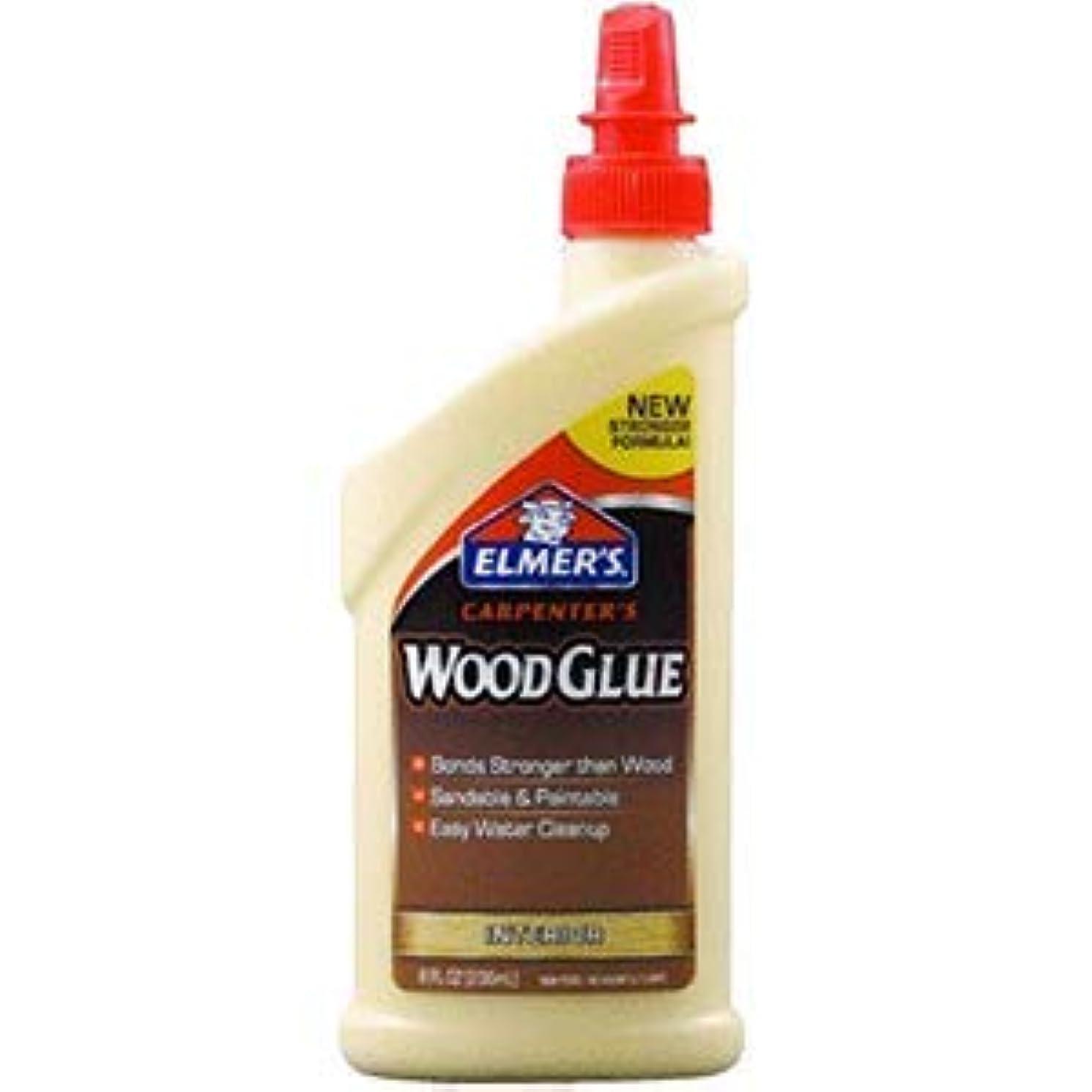Elmers Products Elmers E7010 8 oz. Carpenters Wood Glue - 12ct. Case