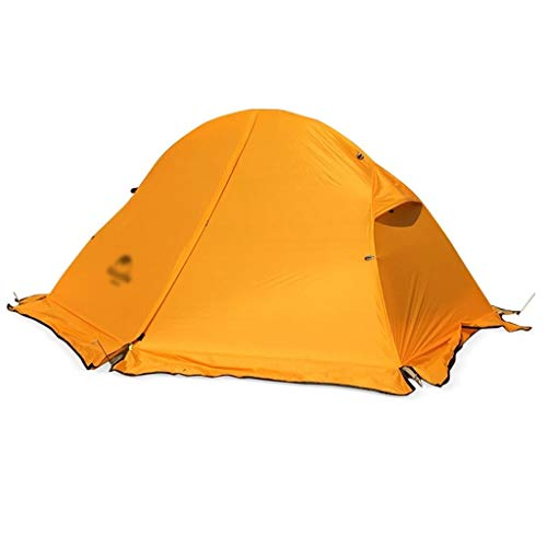Utilisation multiple Sports de plein air Tente Camping épais Sunscreen pluie en plein air portable en alliage d'aluminium coupe-vent pliable Camp extérieur simple portable Équipement d'extérieur
