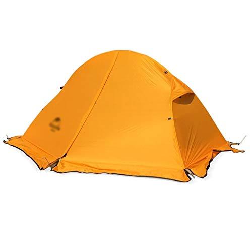 Utilisation multiple Sports de plein air Tente Camping épais Sunscreen pluie en plein air portable en alliage d'aluminium coupe-vent pliable Camp extérieur simple portable Équipement d'extérieur