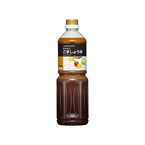 「セミセパR」ごましょうゆドレッシング 1Lボトル×6