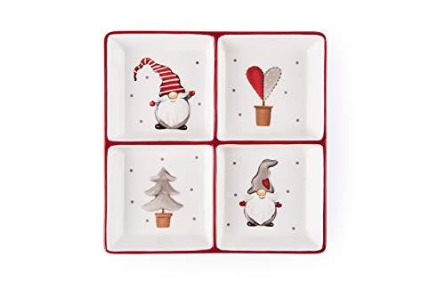 Vajillas Navideñas Ceramica vajillas navideñas  Marca Excelsa