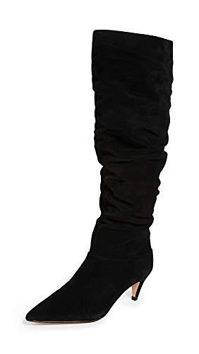 Villa Rouge Women's Scarlett Knee High Boots, Black, 5 Medium US