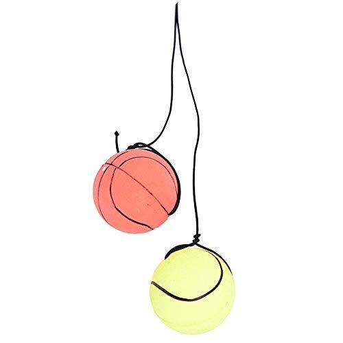 YaptheS 2ST Wrist Band Ball Gummi Hohe Bounce mit Velcro Handgelenk und elastischer Schnur