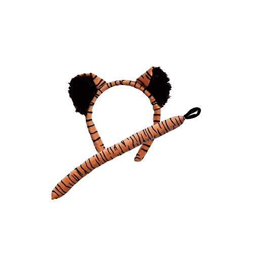 Animal Ears & Tail Set - Tiger Kids Fancy Dress
