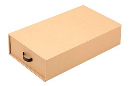 ブーツ収納ボックス 2個セット ダンボール収納 完成品 組立不要