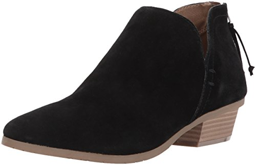 Kenneth Cole REACTION Women's Side Way Ankle Boot, Black, 7 M US