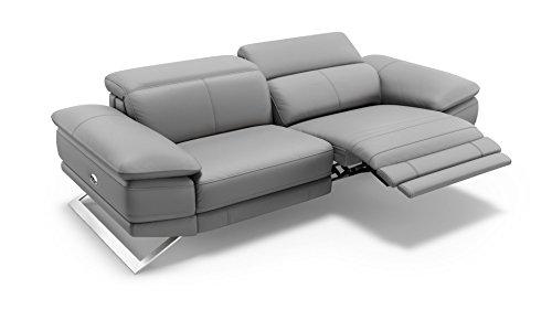 sofanella Leder Sofagarnitur Sofa Couchgarnitur Couch Wohnlandschaft Polstergarnitur 2-Sitzer
