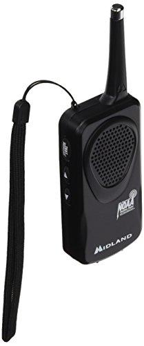 Midland Consumer Radio RA36451 Weather Radio Black (HH50B)