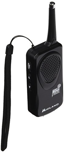 Midland Consumer Radio RA36451 Weather Radio Black (HH50B)