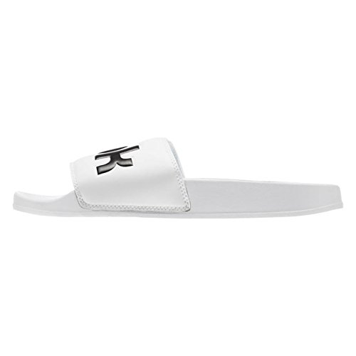 Reebok Unisex-Erwachsene Classic Slide Dusch- & Badeschuhe, Weiß (Splt/White/Black 000), 43 EU