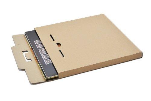Protected LP platte verzenddozen voor 3-6 LPs (50 stuks)