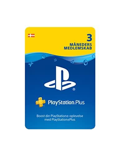 SCEE PSN Plus Card 3m Abbonamento DK (PS3/PS4/PS5/Vita)